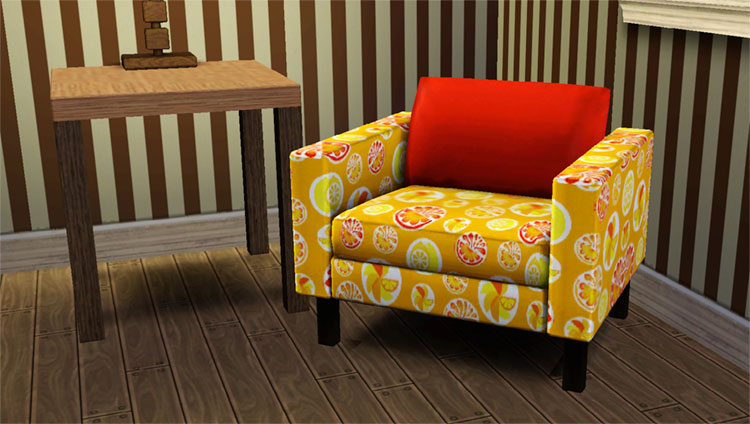 ikea karlstad chair sports brella mod the sims seating x