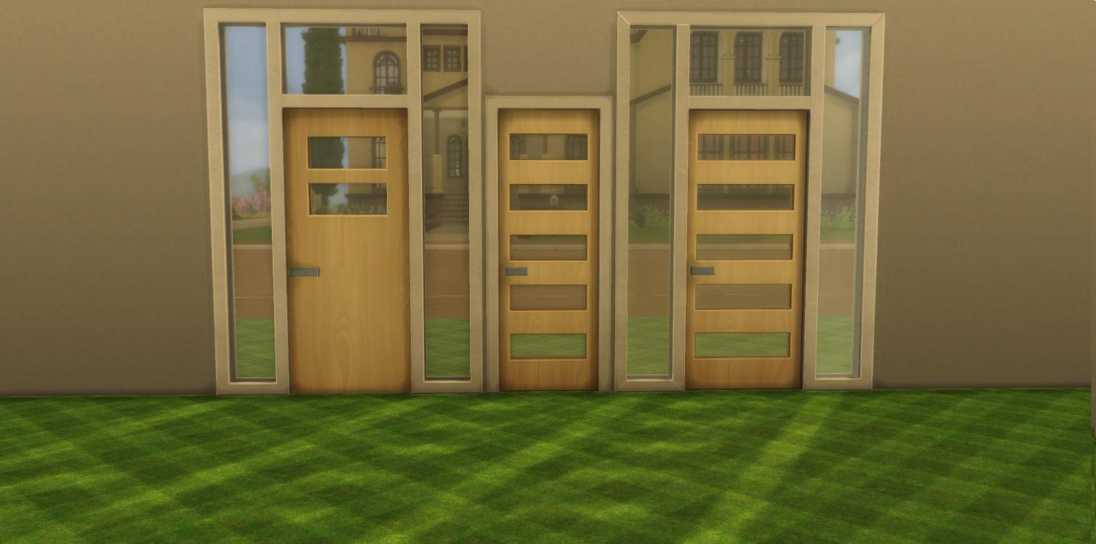 Mod The Sims Sims 4 Doors Modified