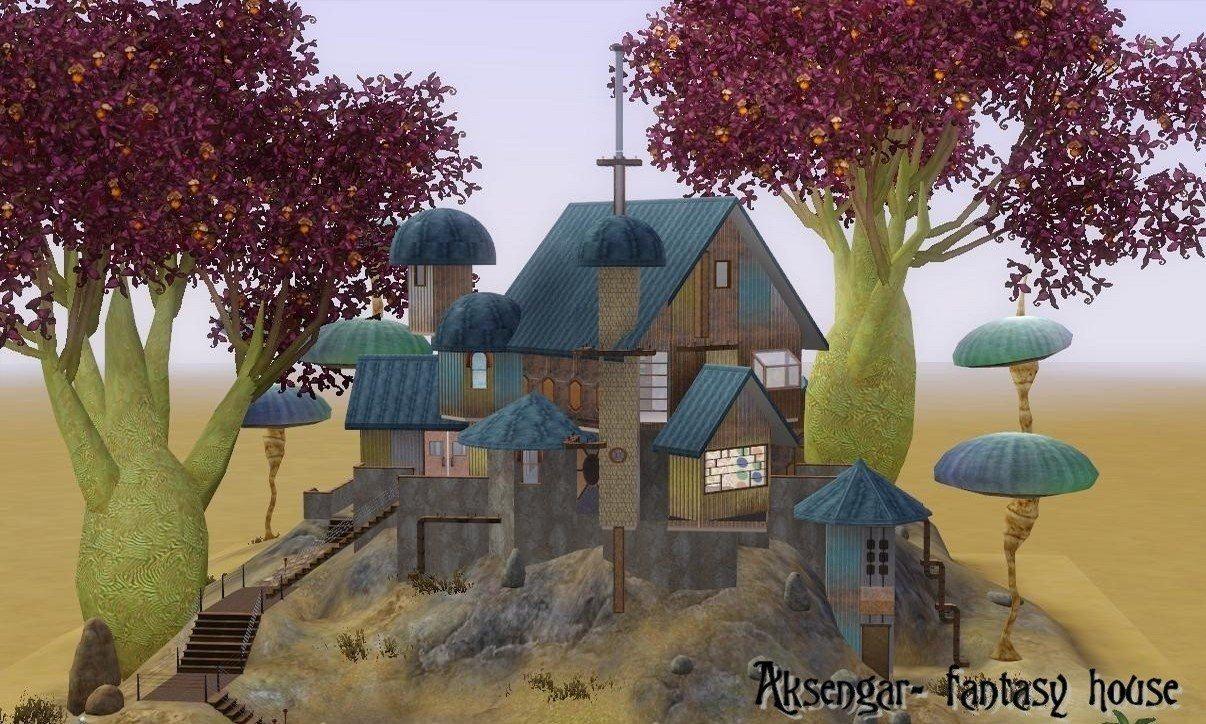 Mod The Sims  Aksengar fantasy house