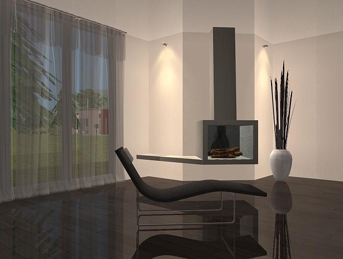 Mod The Sims  ad_20 Modern Fireplace Set