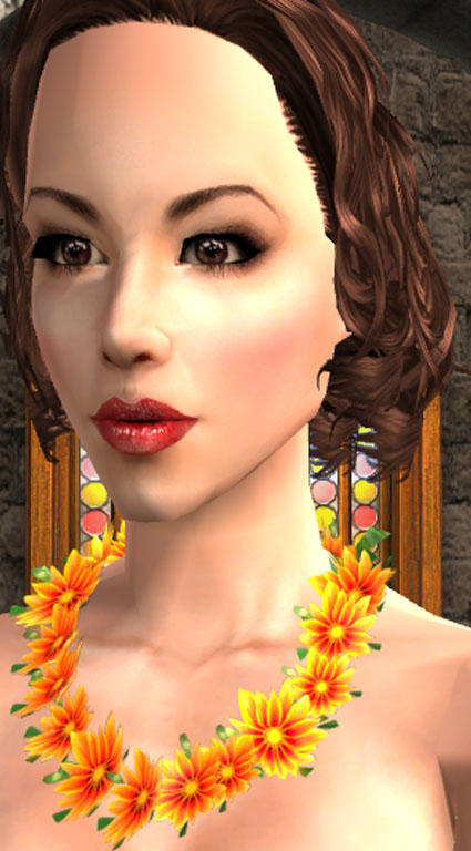 Sims 3 Flower Necklace | Gardening: Flower and Vegetables