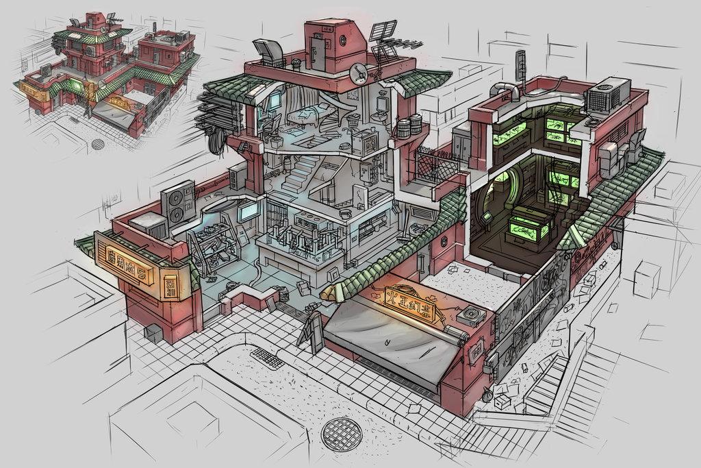 Cyberpunk House 5