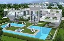 Mod Sims - Wavera Pool And Cafe Oasis Landing