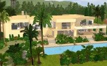 Mod Sims - Huuuge Modern Mansion