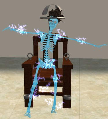 Mod The Sims  The Sims Electric Chair It Electrocutes
