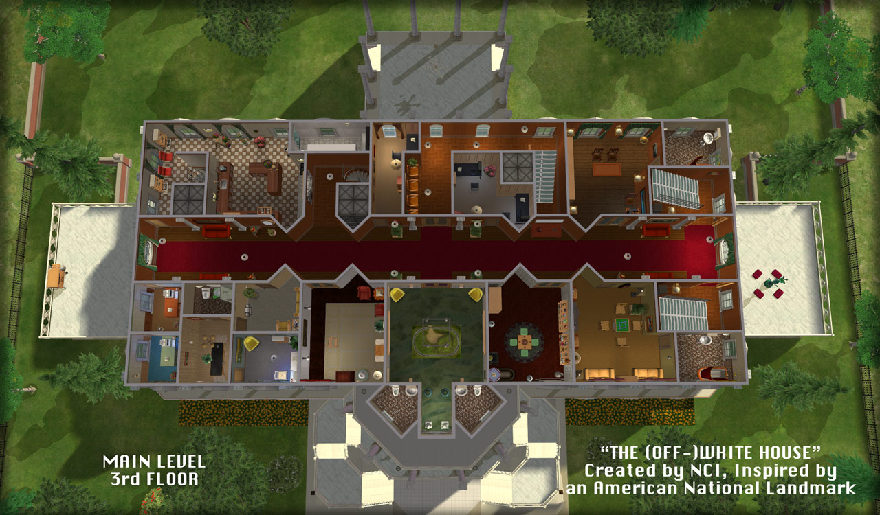 Mod The Sims  NCI  The OffWhite House an inspired American landmark