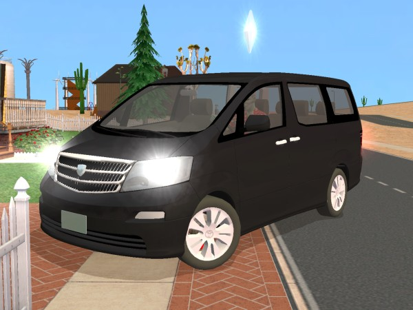 all new alphard camry 2019 thailand mod the sims - toyota