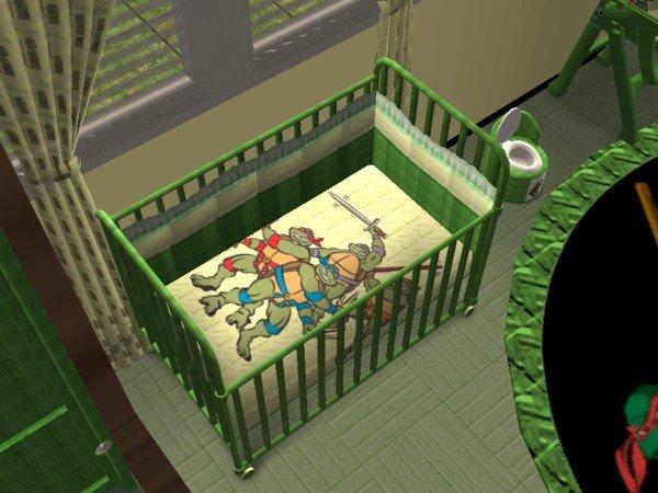 Mod The Sims  Teenage Mutant Ninja Turtles Nursery and