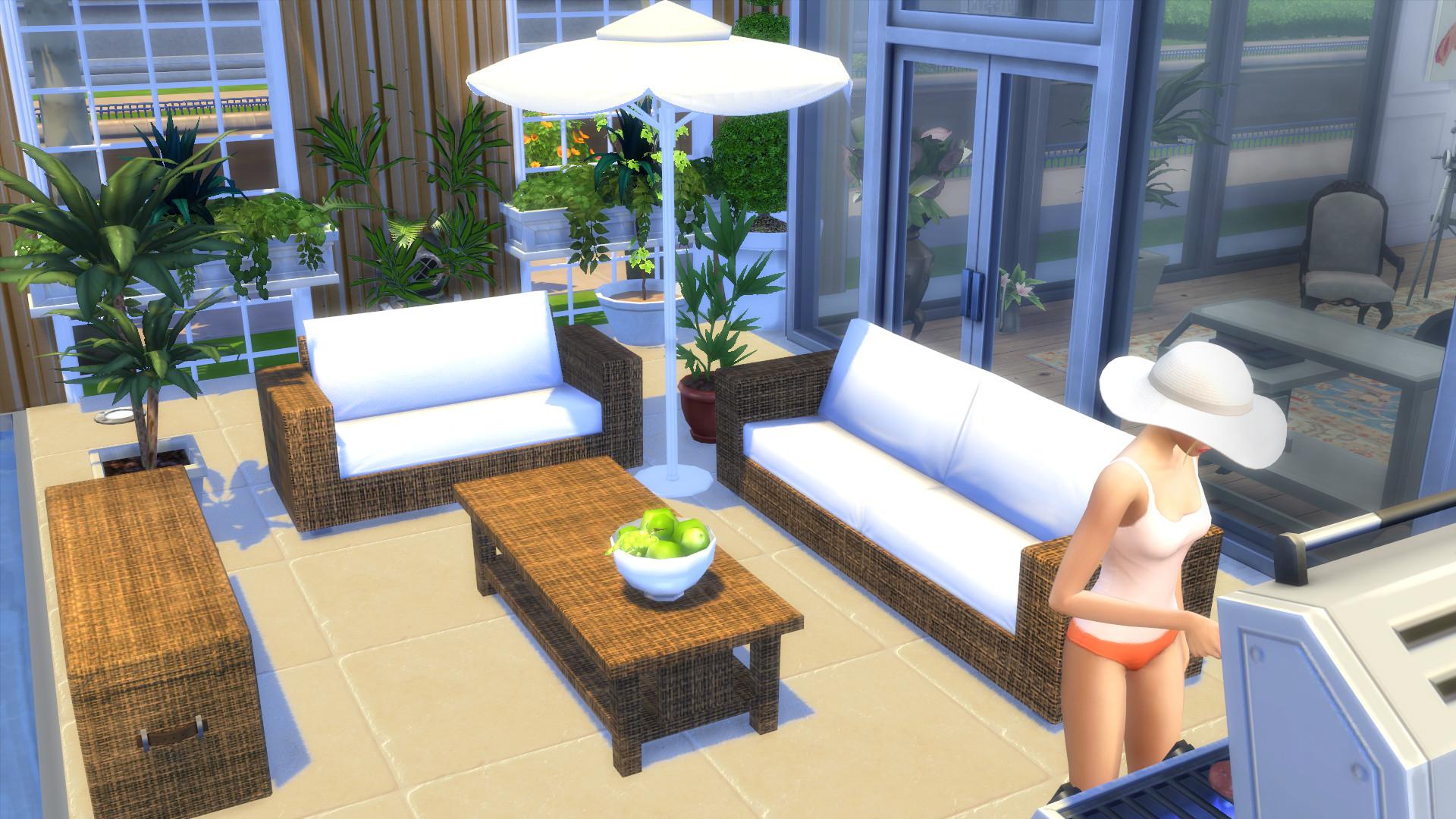 Mod The Sims  Garden Furnitures  Set