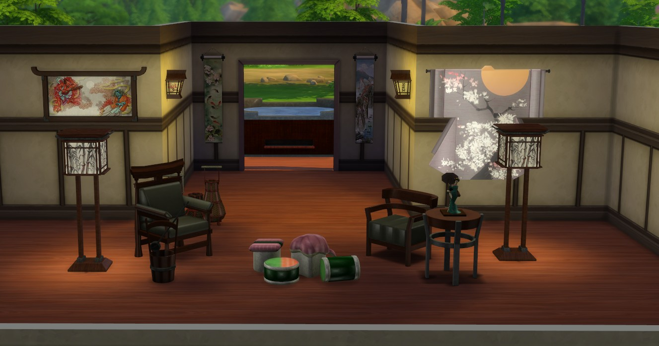 japanese inspired living room curtains walmart mod the sims set conversion from 3 x