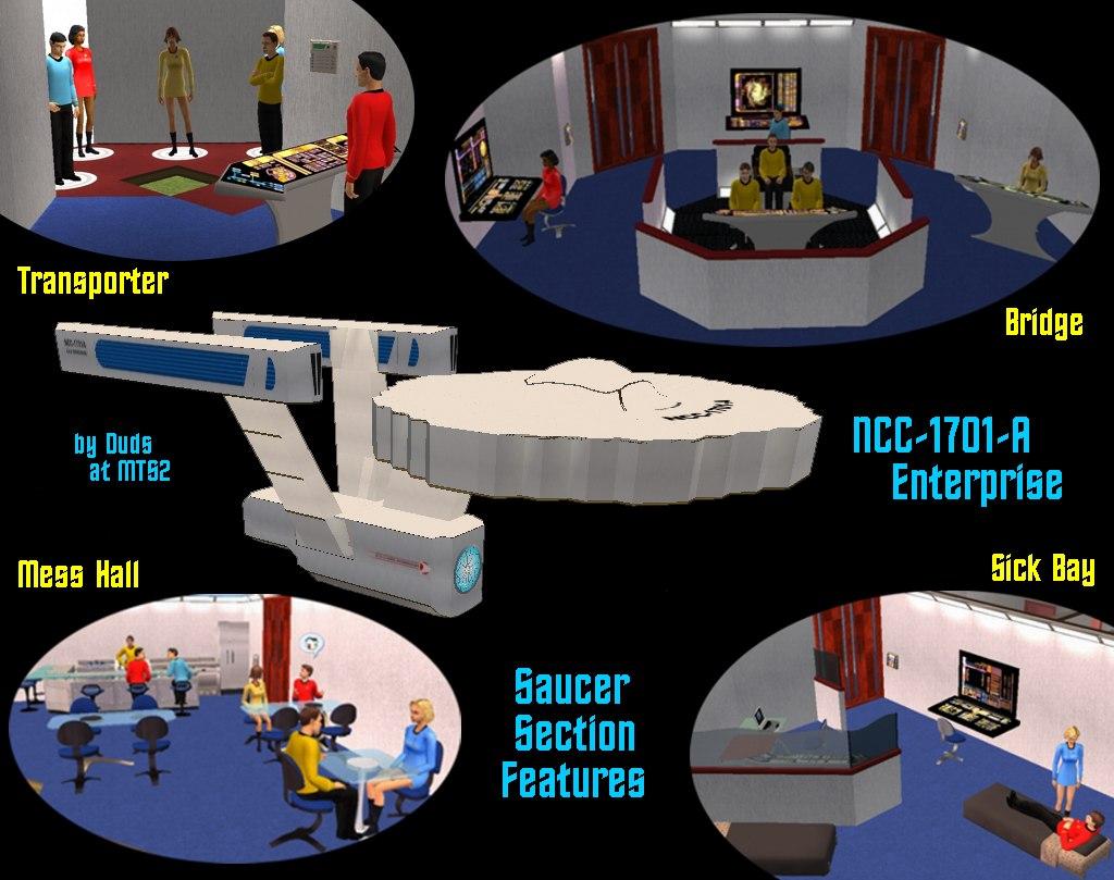 Mod The Sims  New Update Star Trek NCC1701A Enterprise