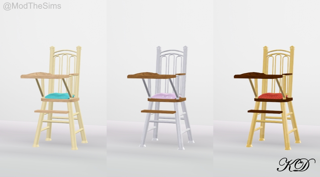 monkey high chair kitchen table chairs set of 4 mod the sims - sweet dreams lullaby nursery (5 new objects!)