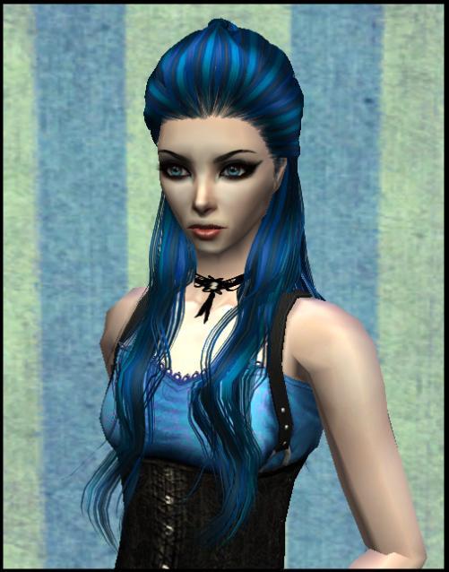 30+ Blue Hairstyles Sims 4 Cc - Hairstyles Ideas - Walk the