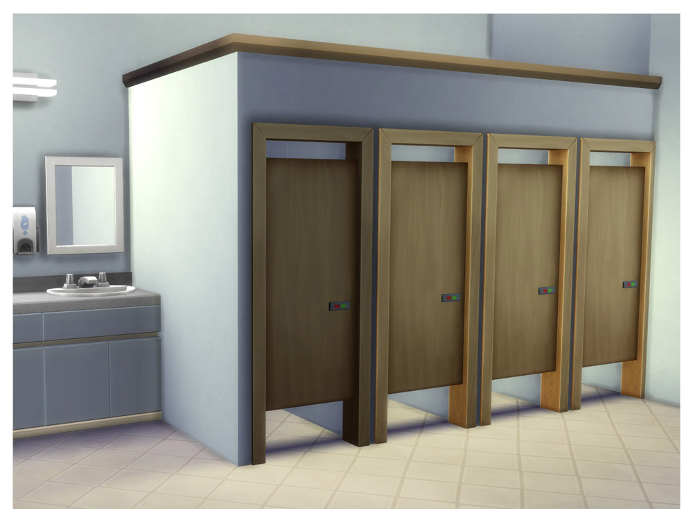 Mod The Sims  Simple Toilet Stall Door