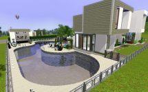 Mod Sims - 2400 Pinochle Drive Modern Luxury Home