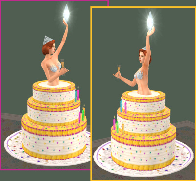 Mod The Sims Birthday Surprise Glam