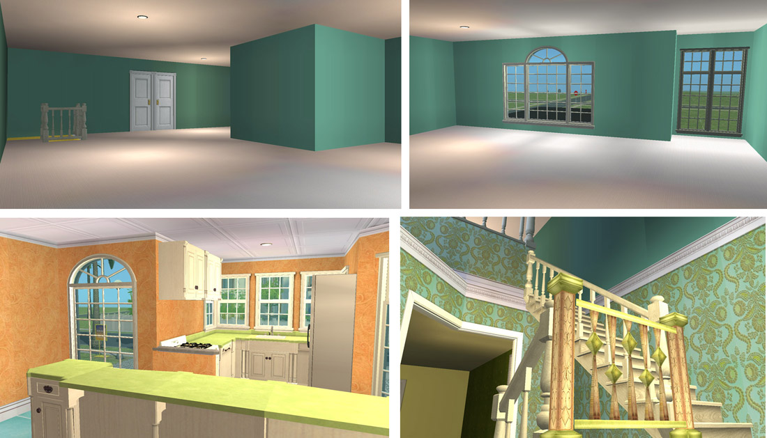 Mod The Sims  Portico Place  Part of the Florida House