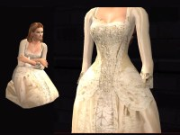 Mod The Sims - POTC2: Elizabeth Swann's Wedding Gown