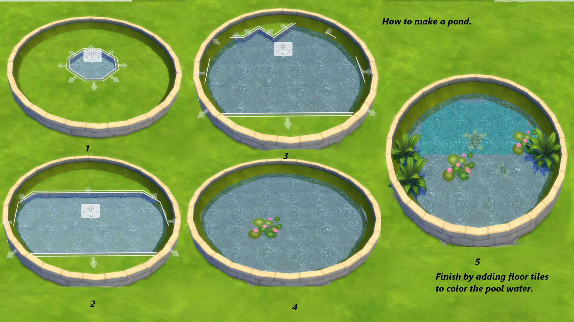 Sims 3 Pool Rund Drehen Mod The Sims On The Curve Circular And Oval Flowerbeds