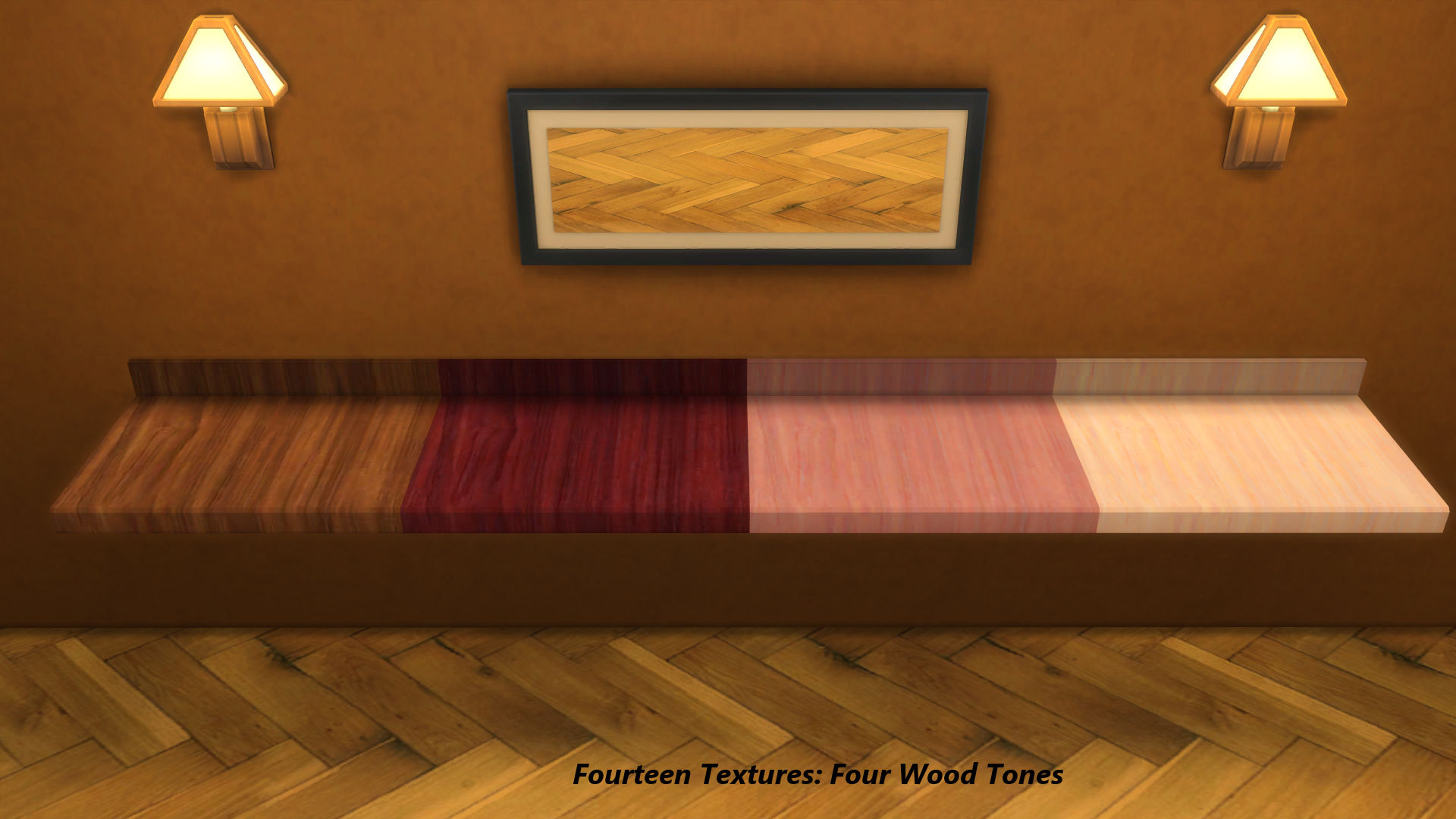 wood kitchen counters dining sets mod the sims - floating