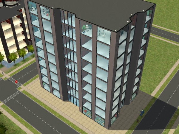 Mod The Sims Metro Series Simi Bank Office Tower
