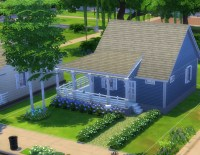 Mod The Sims - Country House with Wrap-around Porch