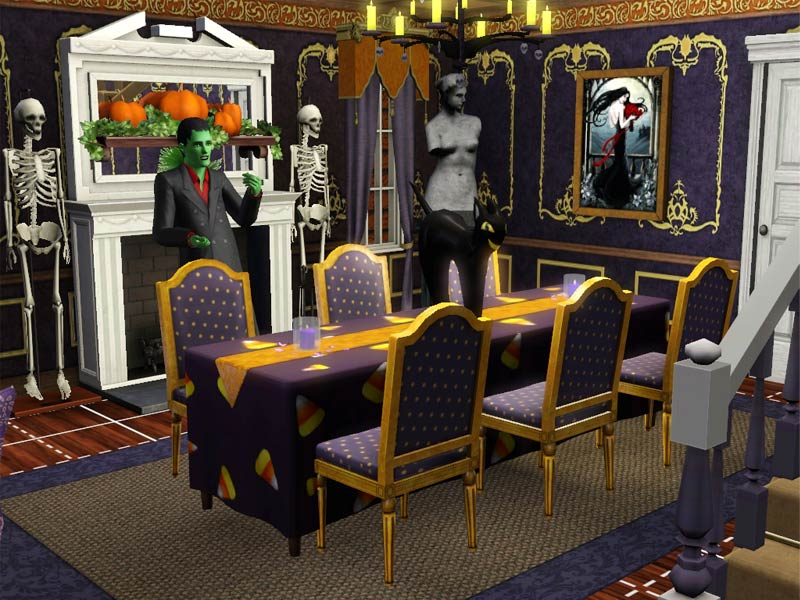Mod The Sims  Trick or Treat Victorian