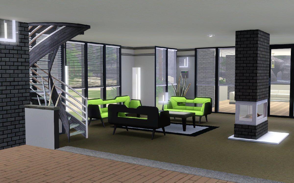 Mod The Sims  Maison Moderne