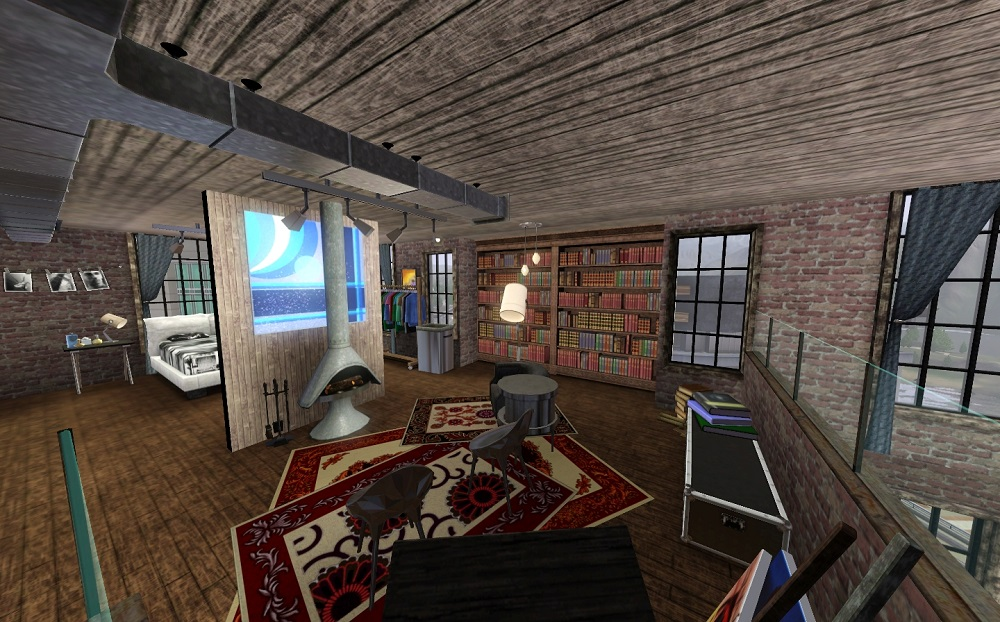 Mod The Sims  Third  Long Warehouse Lofts