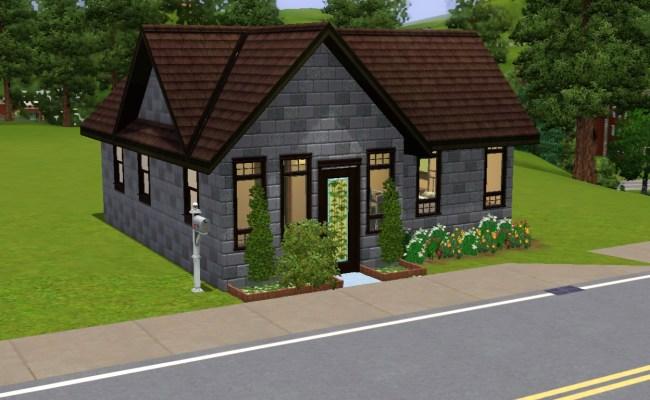 Mod The Sims Tiny House 2 3 Beds 1 Bath
