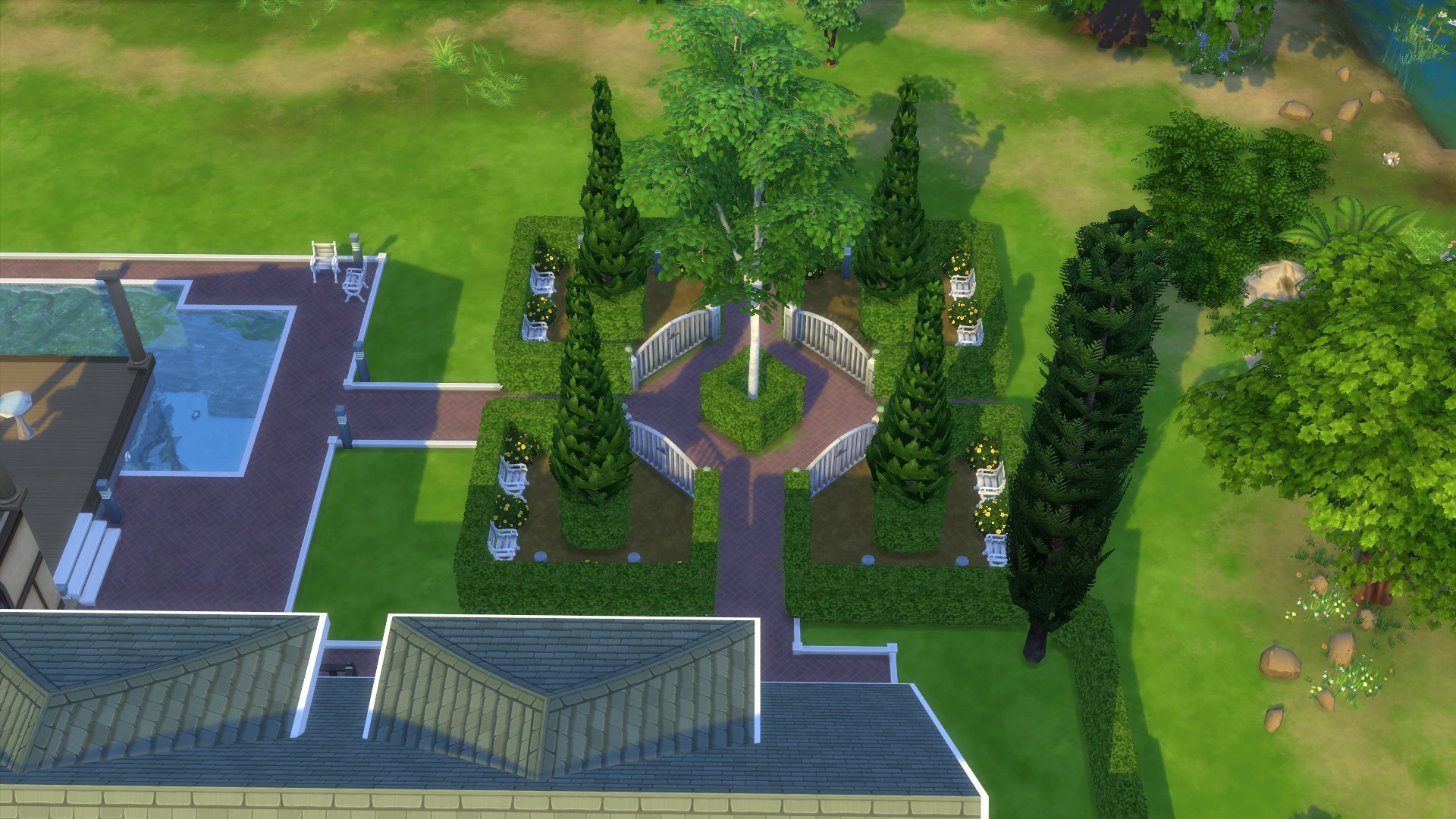 Sims 3 Pool Rund Drehen Mod The Sims The Sims 3 Landgraab Estate 10 Summer