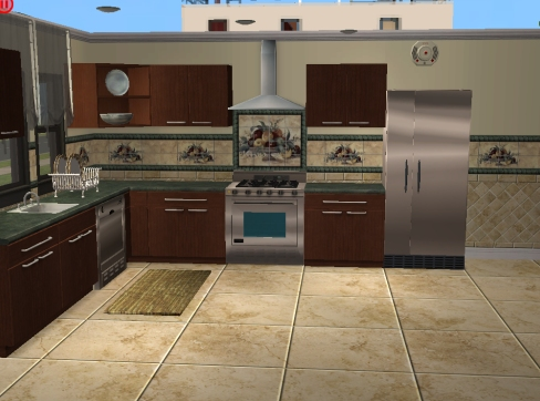 install kitchen backsplash funny gadgets mod the sims - more tile and sets