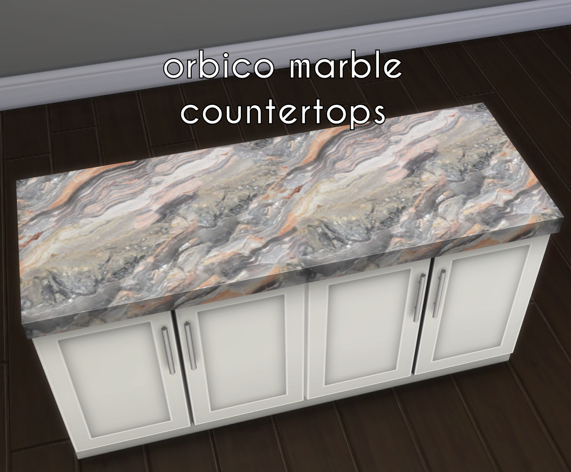 granite kitchen counters planner software mod the sims - sumptuous set