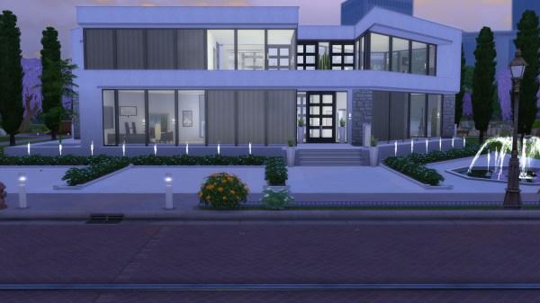 Mod Sims - Ultra Modern Mansion Cc