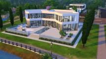 Sims 3 Modern Mansion