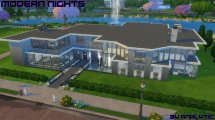 Mod Sims - Modern Nights High-end Mansion Cc