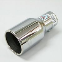 Sport Universal Exhaust Chrome Pipe Muffler Trim Pipe Tail
