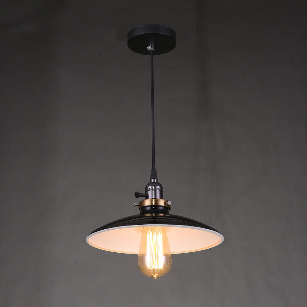 Ceiling Light Fittings Black Lamp Shades Retro Chandelier
