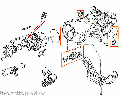 Land Rover LR2 Rear Differential Bearing Excessive Noise
