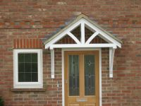 Door canopy designs, timber entrance porch canopy, door ...