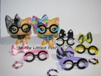 Littlest pet shop LPS clothes 3 accessories ...
