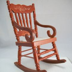 Woven Rocking Chair Childrens Table Chairs 2 Seat 1 733 Miniature Dollhouse