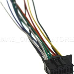 Pioneer Wire Harness Diagram Color Wiring Car Stereo Dxt 2266ub For