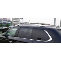Rack Roof Rails Bars Decoration Trim Covers For Mitsubishi ...