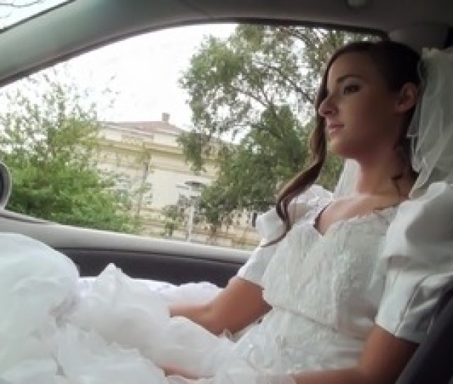 Pretty Bride With A Shaved Pussy Enjoying A Hardcore Missionary Style Fuck In