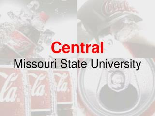 PPT ESTEBAn v central Missouri State College PowerPoint