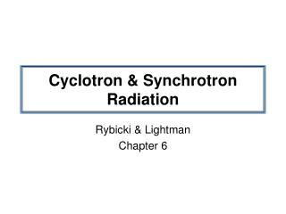 PPT - Cyclotron Operator Training