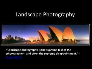 ppt - history of landscape
