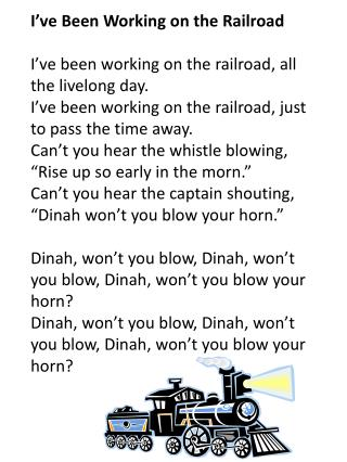 Dinah Won't You Blow : dinah, won't, PowerPoint, Presentation,, Download, ID:2670690