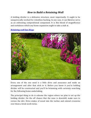 ppt - landscaping design & installation